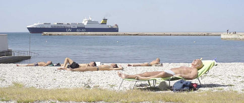 L'Ultima Spiaggia - Une scène