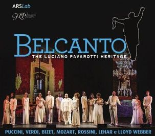 Belcanto, The Luciano Pavarotti Heritage- couverture