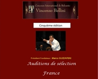 Auditions Bel Canto - couverture