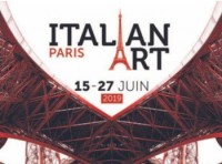 Italian Art in PARIS 2019 - affiche