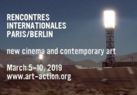 Rencontres internationales Paris/Berlin - affiche
