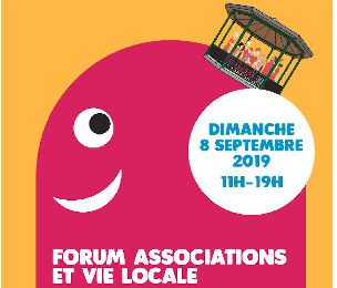 Affiche forum des associations du Xe arrondissement