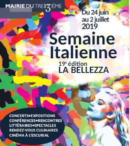 Semaine italienne 2019 - affiche
