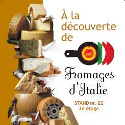 Fromages d'Italie - affiche