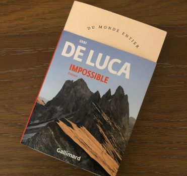 Erri De Luca, Impossible - couverture