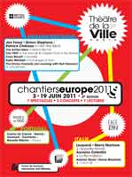 Affiche Chantiers Europe 2011