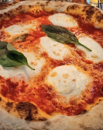 La pizza bufalina de Amore Mio Parigi