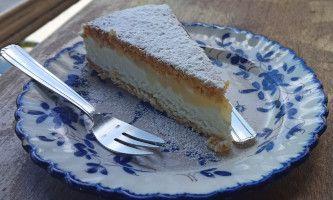 Restaurant Come a casa - torta ricotta e pere