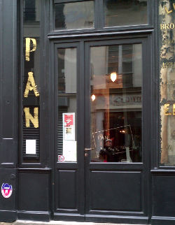 Devanture Restaurant Pan